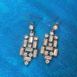 Art Deco Style Dangle Earrings NWOT - Never Worn